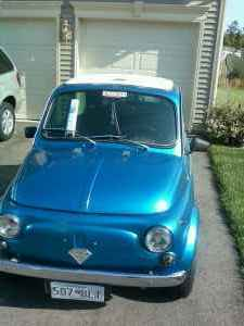 Grey in the USA: 1968 Fiat 500 for 5 Grand