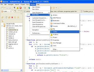 Aptana Studio Professional v1.2.7.024774