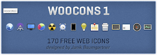 WooCons #1 - 170 Free Web Icons