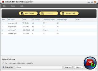 Xilisoft PDF to EPUB Converter 1.0.3.0113