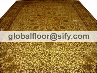 silk rugs manufacturers india