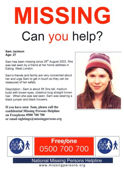 missing person poster template pictures