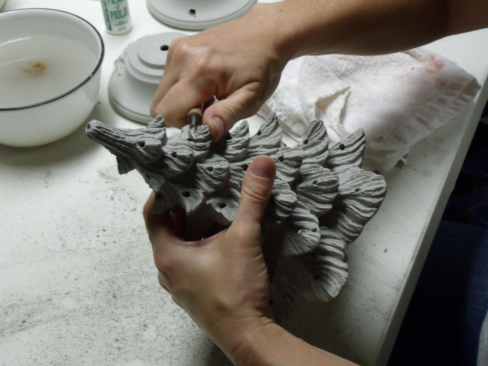 Dark Horse Discoveries Liquid Clay To Shining Lights Ceramic