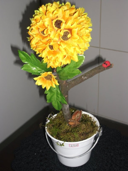 topiaria girassol