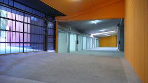 Un garage di design e tecnologia di parcheggio