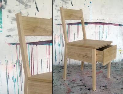 切り口を変えて商品を開発する方法:引き出しの付いた椅子