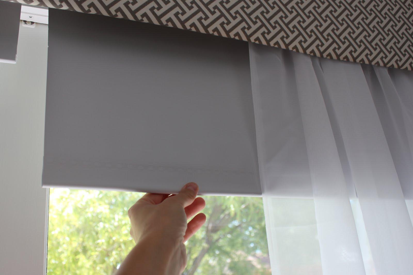 Omh cornice box help and the sliding glass window treatment trick