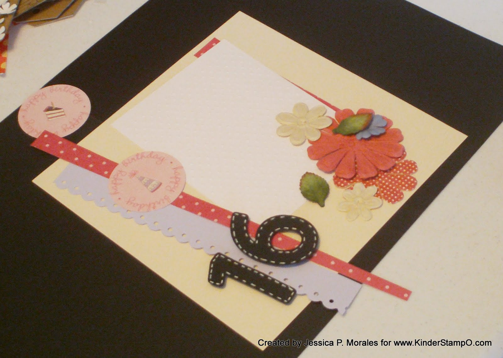 How to scrapbook 8x8 layouts - Happy Crafting