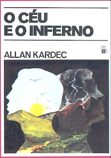 Capa do livro O Céu e o Inferno, de Allan Kardec