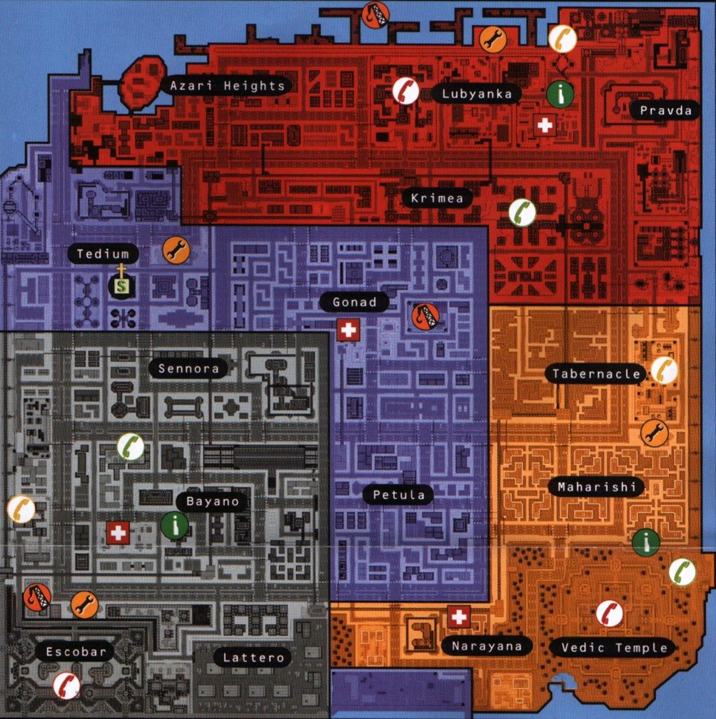 GTA 2 Industrial Map