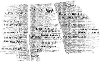 Południowe stany USA w literaturze