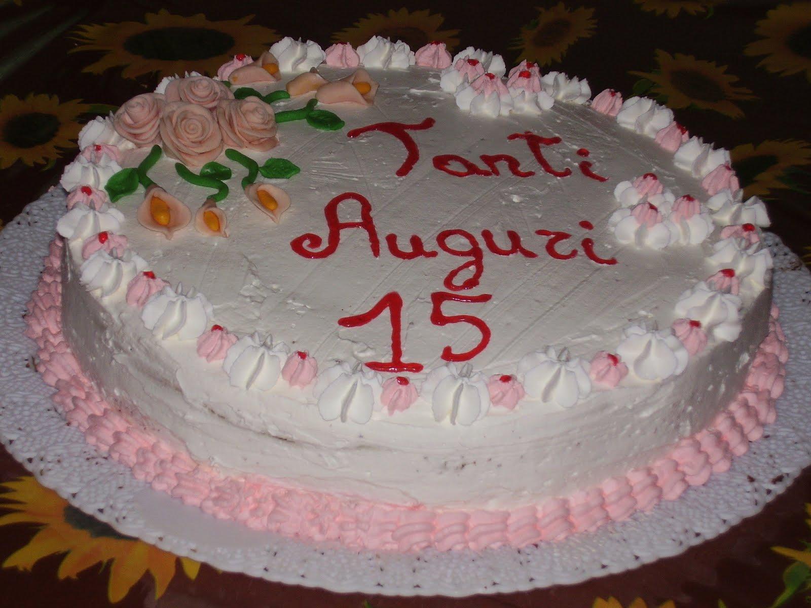 Fantasia in cucina torta di compleanno per fede - La cucina di sara torte ...