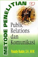 METODE PENELITIAN PUBLIC RELATIONS DAN KOMUKASI