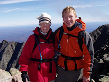 John and Stacy on Mt. Katahdin 2004