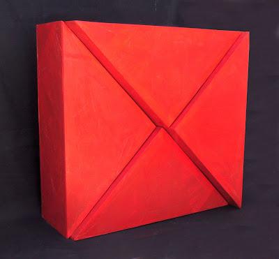 100x100 Acrílico sobre cartón y papel