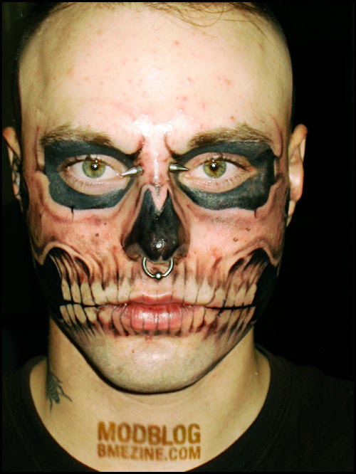crazy tattoo: Skull Tattoo The Real Meaning Behind Its Symbol