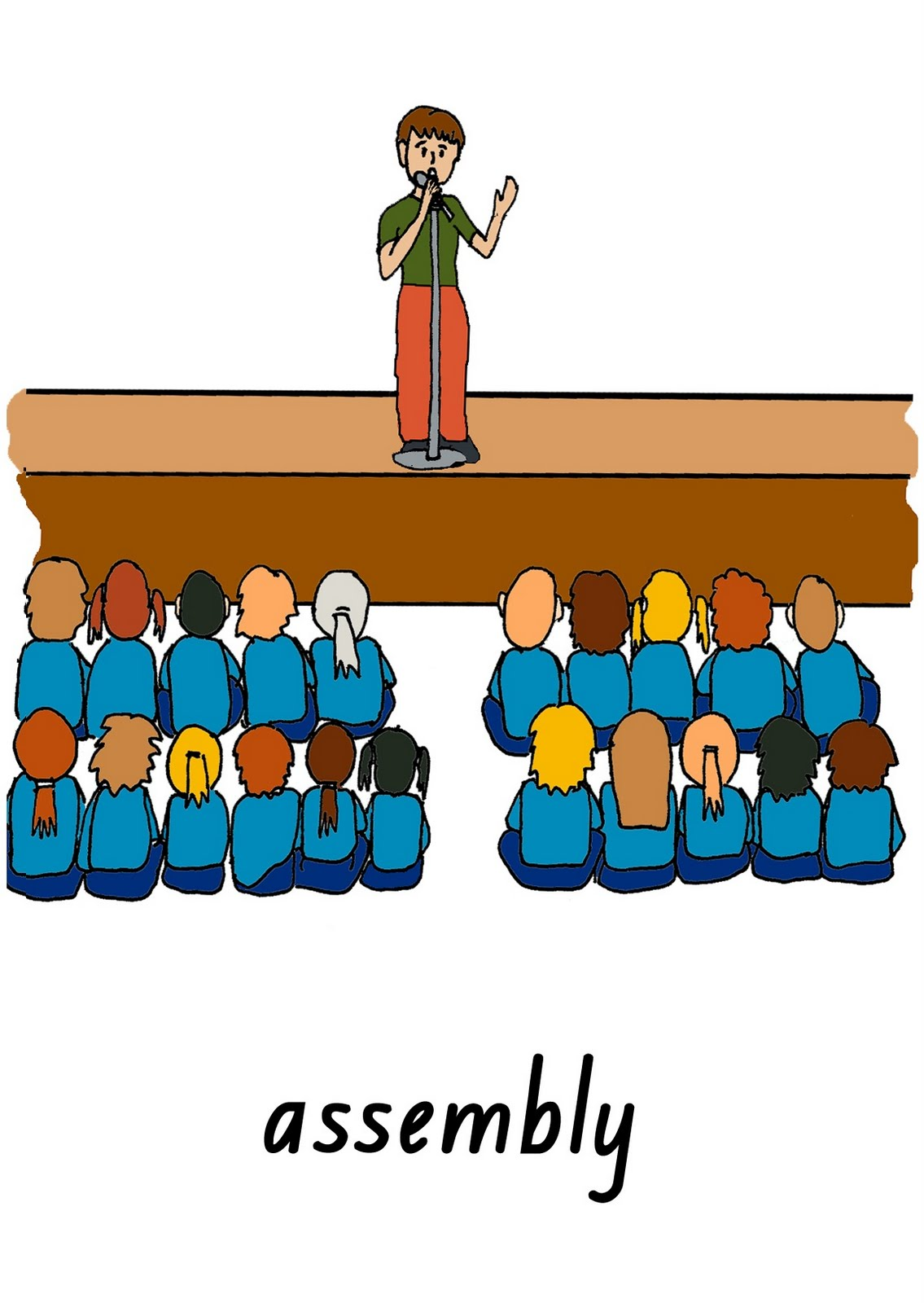 morning school assembly Today, i would like to share with you all the benefits of having a morning  assembly everyday first, it provides us a good opportunity to meet.