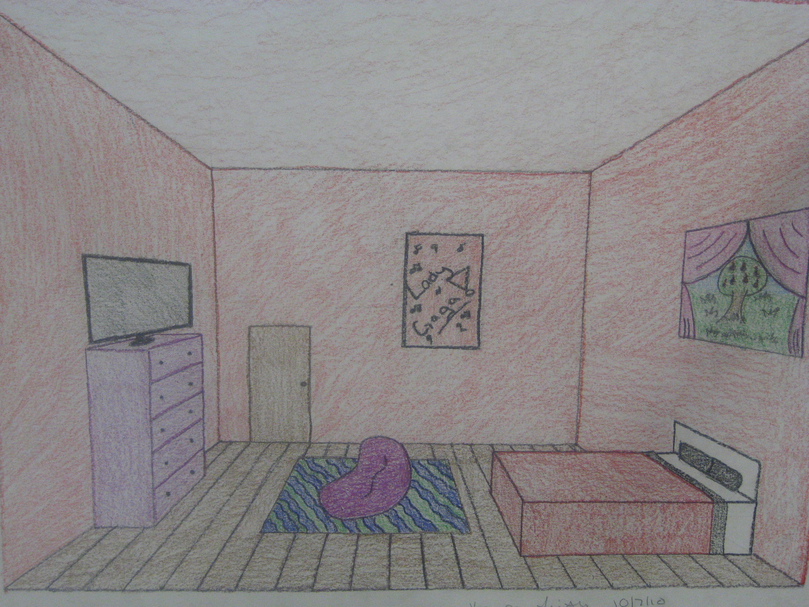 Here are some of the rooms the students have drawn: title=