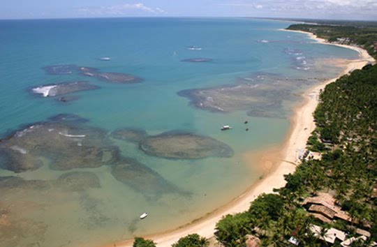 Praia: Trancoso - Bahia