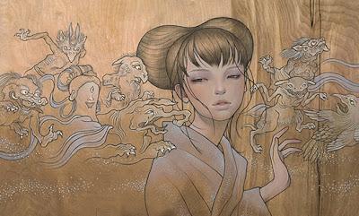 Pinturas de Desenhos Japoneses - 02