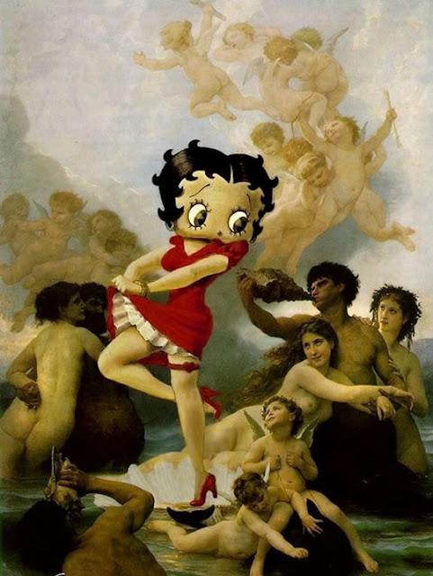 Personagens do Desenho Animado invadem Pinturas Famosas - 06