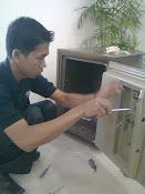 Service brandkas Ichiban hilang kunci dan lupa kode