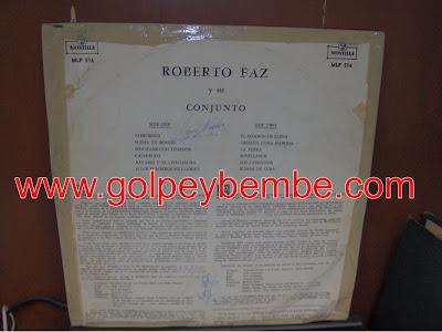 Roberto Faz y Su Conjunto Back