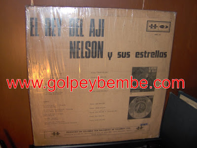 Nelson y sus Estrellas - El Rey Del Aji Back