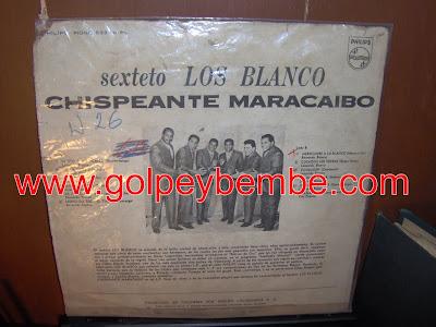 Los Blanco - Chispeante Maracaibo Back