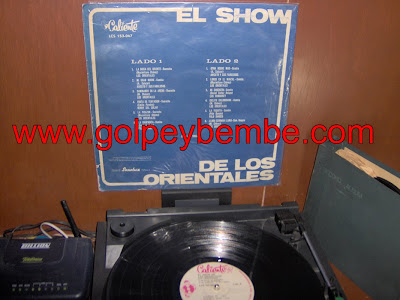 El Show de Los Orientales Back
