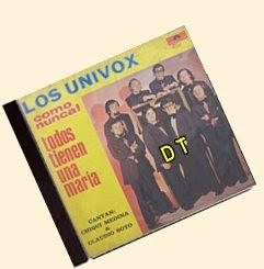 Los Univox - Todos Tienen Una Maria