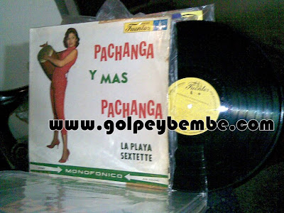 The Playa Sextette - Pachanga y Mas Pachanga