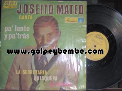 Joseito Mateo - Pa' lante y pa' tras