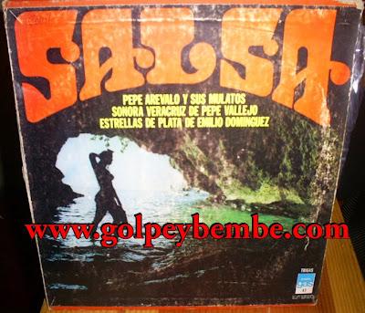 Pepe Arevalo, Sonora Veracruz, Emilio Dominguez - Album Salsa