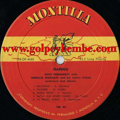 Obdulio Morales - Ñañigo