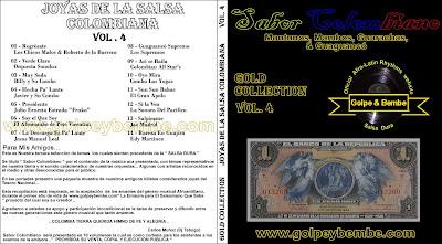 Joyas de la Salsa Colombiana Vol 4