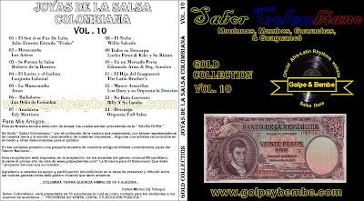 Joyas de la Salsa Colombiana Vol 10