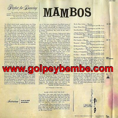 Mambos Perfec for Dancing Back