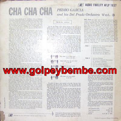 Pedro Garcia - Cha Cha Cha Back