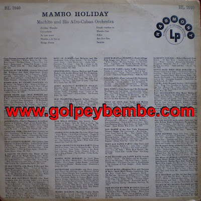 Machito - Mambo Holiday Back