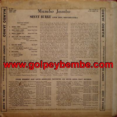 Sonny Burke - Mambo Jambo Back