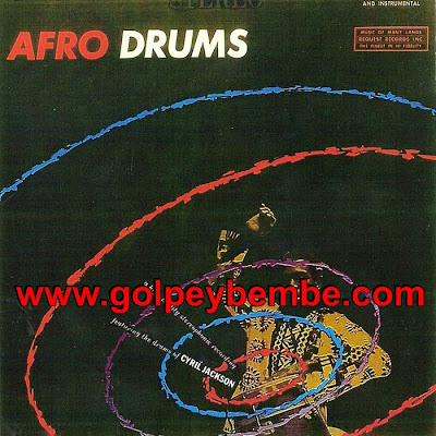 Cyril Jackson - Afro Drums Front