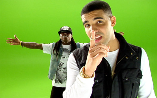 Proper Version of Lil Wayne's New Single ft. Drake - 'Right Above It'