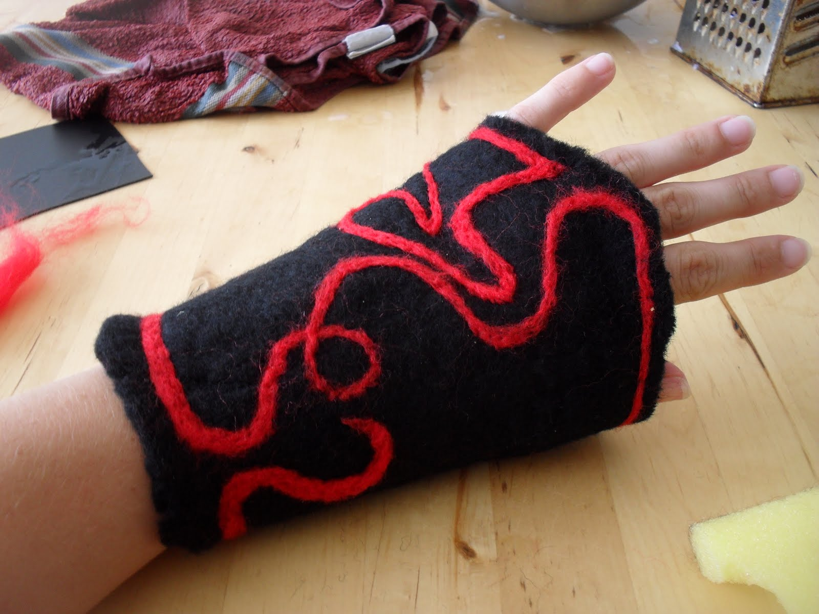 Felting Cuffs