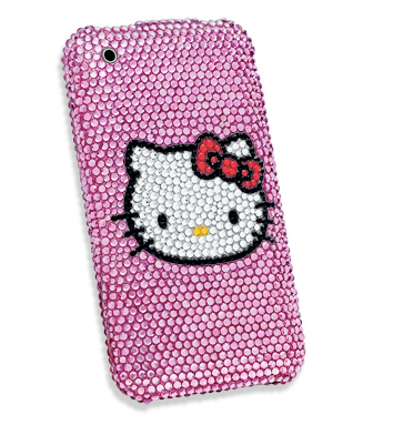 If you want your Hello Kitty iPhone bling, check it out at Zales.