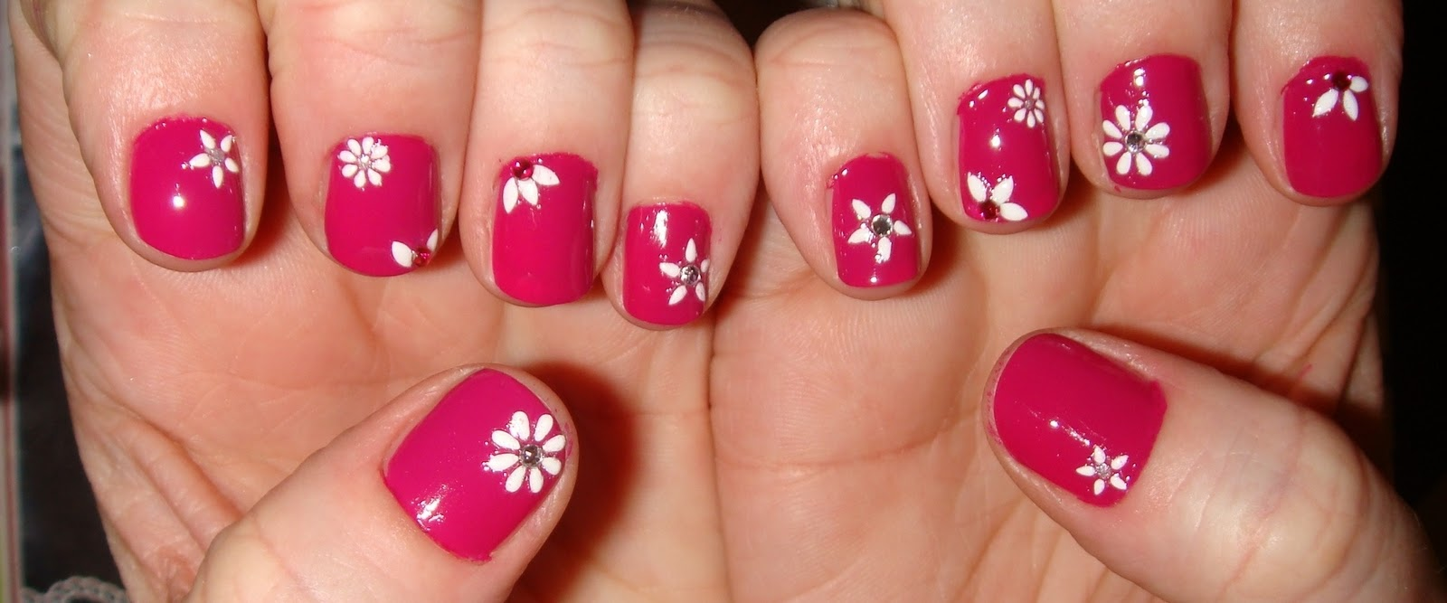 Nail Design Ideas Hot Pink Nail Ftempo