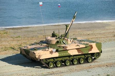 Foto Tank Amphibi yang Keren