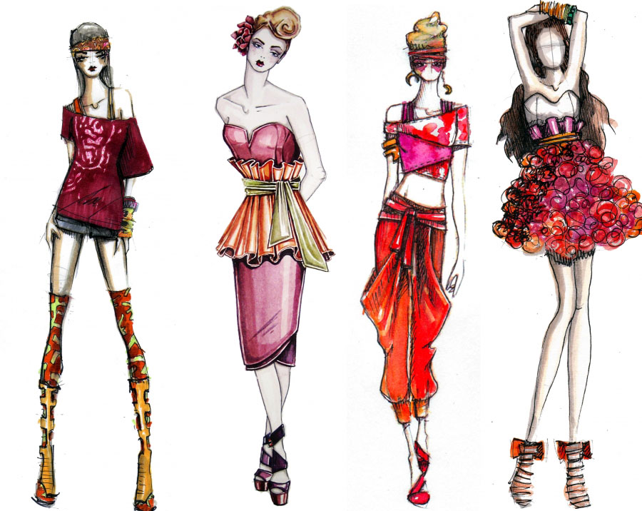 how to draw like a fashion designer book amazon