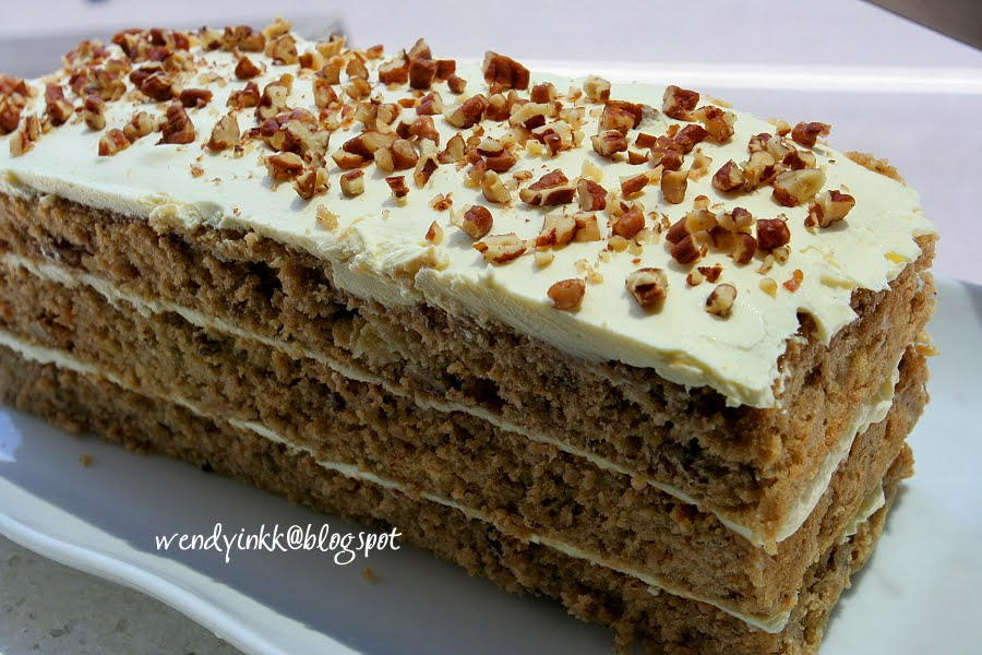 Hummingbird Cake Recipe — Dishmaps