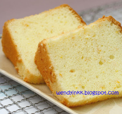 Recipes of orange chiffon cake